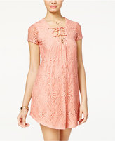 B. Darlin Juniors' Lace Shift Dress