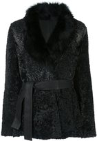 Drome lamb fur coat