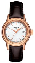 Tissot Women's Carson Leather Strap Watch, 28Mm
