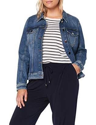 Junarose Women's Jrjoline Ls Mb Jacket-K Medium Blue Denim, (Size: 50)