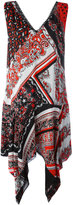 Just Cavalli paisley patterned flared dress - women - Viscose - 44