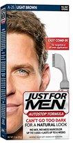 Just For Men AutoStop Men's Hair Color, Light Brown