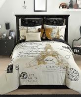Idea Nuova Gold Paris Eight-Piece Comforter Set