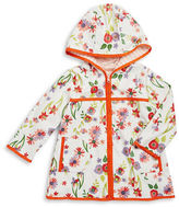 Margherita Kids Girls 2-6x Girl's Floral Raincoat