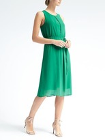 Banana Republic Knit Overlay Dress