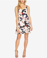 1 STATE 1.STATE Floral-Print Shift Dress