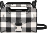 Christopher Kane Gingham Print Cut Out Day Bag