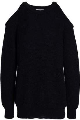 IRO Cold-shoulder Knitted Sweater
