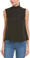 Vince Mock Neck Shell Top