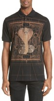 Givenchy Men's Embroidered Cobra Polo