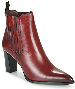 Muratti AMYNA women's Low Ankle Boots in Red