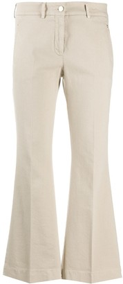 Incotex Cropped Pleated Trousers