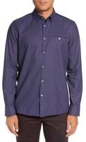 Ted Baker Men's 'Newtune' Trim Fit Sport Shirt