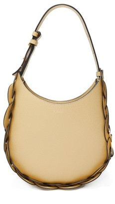 Chloé Darryl Small Leather Shoulder Bag - Light Yellow