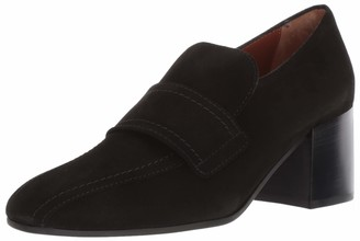 Aquatalia Women's CARMELINE Dress Suede Loafer