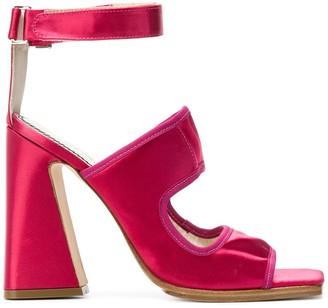 Nicole Saldaña Block Heel Sandals