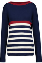 MiH Jeans Dear John Breton Ribbed Striped Cotton Sweater