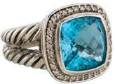 David Yurman Topaz & Diamond Albion Ring