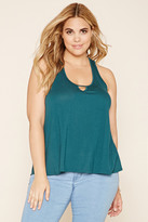 Forever 21 Plus Size Y-Back Top