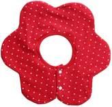 MagiDeal Infant Baby Kids Bibs Round Flower Head Scarf Bandana Feeding Saliva Towel