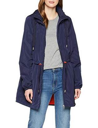 Tom Tailor Women's Wasser windabweisende Übergangsjacke in einem femininen und modernen Schnitt Jacket
