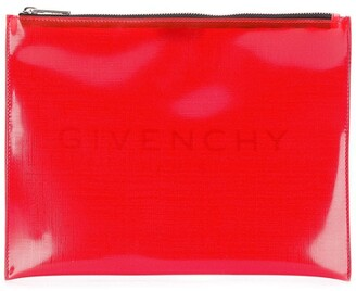 Givenchy PVC clutch