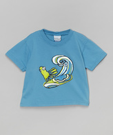 Flap Happy Blue & Green Crazy Eights Tee - Toddler & Boys