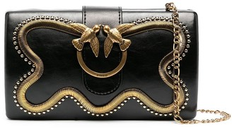 Pinko Love Party snake clutch