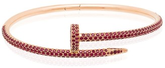 MAD Paris customised 18kt rose gold Cartier Juste Un Clou bracelet