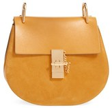Chloé Drew Leather & Suede Shoulder Bag - Yellow