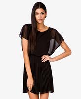 Forever 21 Pleated Blouson Dress