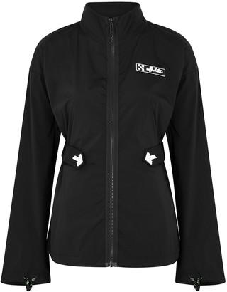 Off-White Athleisure black shell jacket