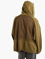 Haider Ackermann Khaki Perth Oversized Hoodie