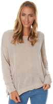 Rusty Surface Womens Crew Neck Knit Natural