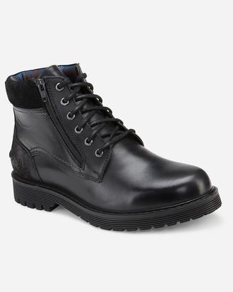 Express Reserved Footwear Black Belvoir Boots