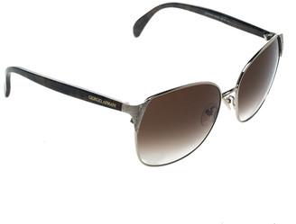 Giorgio Armani Silver/Brown Gradient GA854/S Wayfarer Sunglasses
