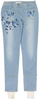 Christian Dior Blue Cotton Jeans