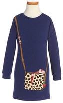 Little Marc Jacobs Girl's 'Essential' Jersey Dress