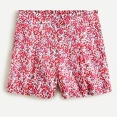 J Crew Ruffle short in Liberty® Wiltshire Print