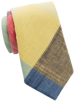 Tommy Hilfiger Jumbo Linen Check Tie