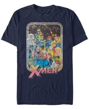 Marvel Men's Comic Collection Vintage X-Men Team Group Shot Short Sleeve T-Shirt