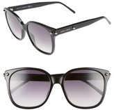 Jimmy Choo Women's Demas 56Mm Sunglasses - Black