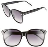 Jimmy Choo Women's Demas 56Mm Sunglasses - Black