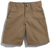 Volcom 'Modern' Chino Shorts (Little Boys)