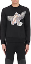 "Neil Barrett Men's ""Reuben's Eagle"" Neoprene Sweatshirt"