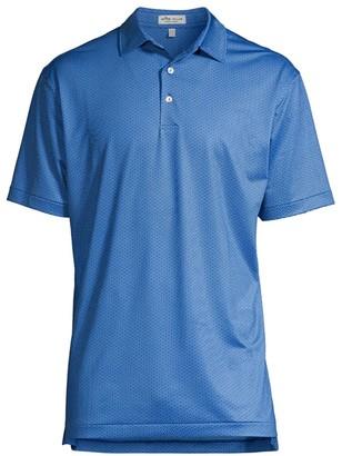 Peter Millar Wishbone Stretch Jersey Polo