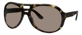 Polo Ralph Lauren Brown Metal Sunglasses