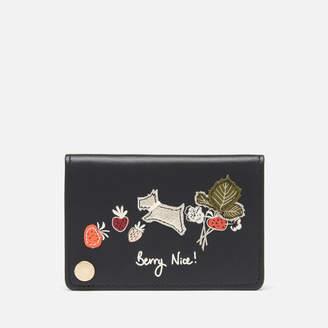 Radley Women's Berry Nice Small Fan Card Holder