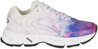 Christian Dior Faded Paint Sneakers