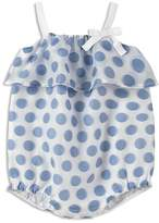 Absorba Girls' Polka-Dot Bubble Romper - Baby